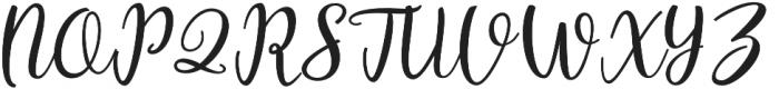 Intybus otf (400) Font UPPERCASE