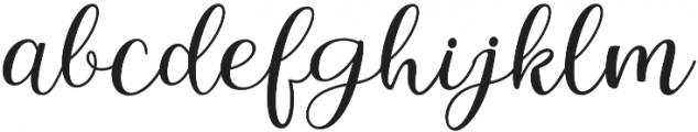 Intybus otf (400) Font LOWERCASE