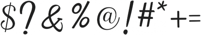Intybus ttf (400) Font OTHER CHARS