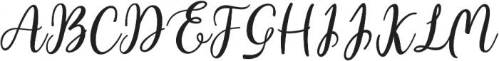 Intybus ttf (400) Font UPPERCASE