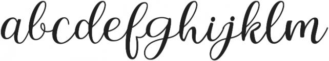 Intybus ttf (400) Font LOWERCASE