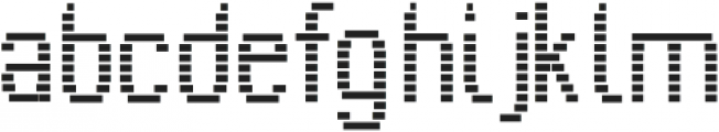 Inuksuk otf (400) Font LOWERCASE