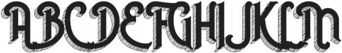 Invert otf (400) Font UPPERCASE