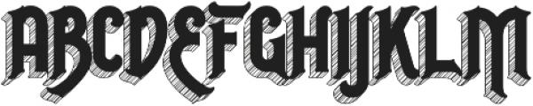 Invert otf (400) Font LOWERCASE