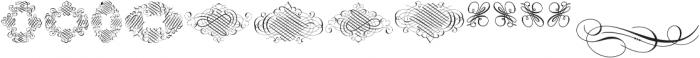 Invitation Script Ornaments ttf (400) Font LOWERCASE