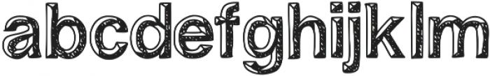 influence ttf (400) Font LOWERCASE