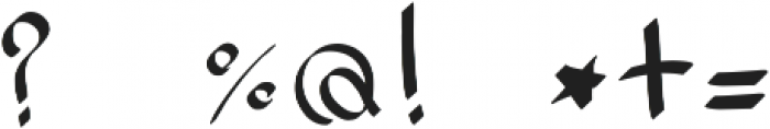 ink_font otf (400) Font OTHER CHARS