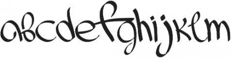ink_font otf (400) Font LOWERCASE