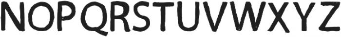 inkotsi Regular otf (400) Font UPPERCASE