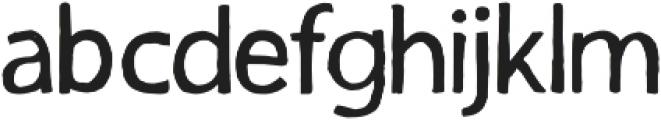 inkotsi Regular otf (400) Font LOWERCASE