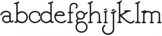 inku semibold otf (600) Font LOWERCASE