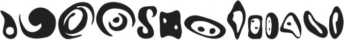 insigne Abstractions Regular otf (400) Font UPPERCASE