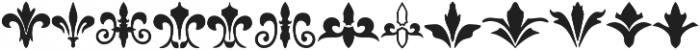 insigne Fleurons otf (400) Font UPPERCASE