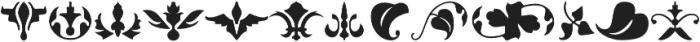 insigne Fleurons otf (400) Font LOWERCASE