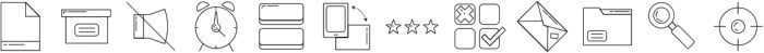 interface ttf (400) Font LOWERCASE