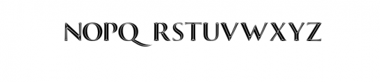 Invictus Typeface Font UPPERCASE