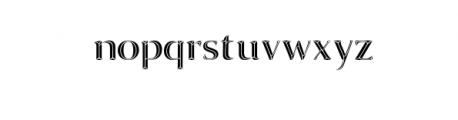 Invictus Typeface Font LOWERCASE