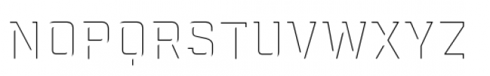 Industry Inc Detail Fill Font LOWERCASE