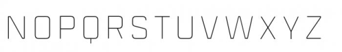 Industry Inc Inline Stroke Font UPPERCASE