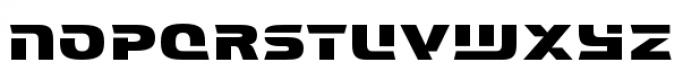 Interceptor Regular Font LOWERCASE
