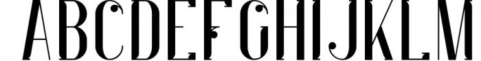 Indigo Typeface - 6 Weights 1 Font UPPERCASE