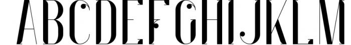 Indigo Typeface - 6 Weights 4 Font UPPERCASE