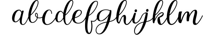 Intybus Script Font LOWERCASE