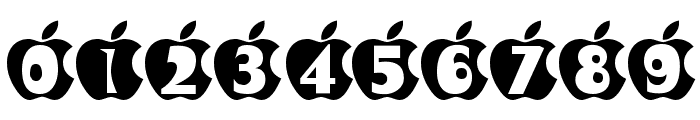 IN APPLE Font OTHER CHARS