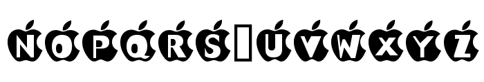 IN APPLE Font UPPERCASE