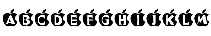 IN APPLE Font LOWERCASE