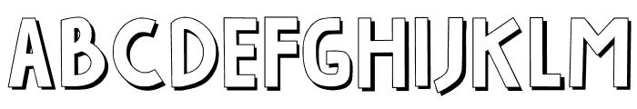 INDAH PAPUAKU Font LOWERCASE