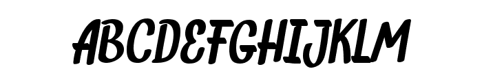 INDIEFEST Demo Font UPPERCASE
