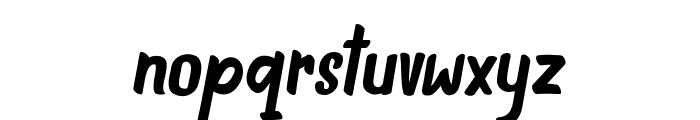 INDIEFEST Demo Font LOWERCASE