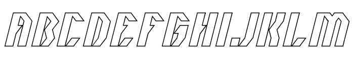 INOVATION-Hollow Font UPPERCASE