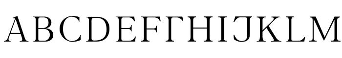 INTERBET Font UPPERCASE