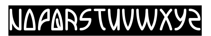 INTERPLANETARY-Inverse Font UPPERCASE
