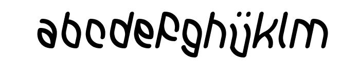 INTERPLANETARY Italic Font LOWERCASE
