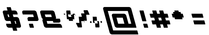 INVASION-Filled Font OTHER CHARS