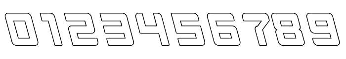 INVASION-Hollow Font OTHER CHARS