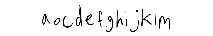 In Hades Regular Font UPPERCASE