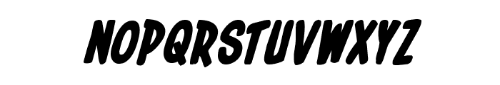 In-House Edition Bold Italic Font UPPERCASE