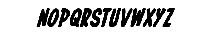 In-House Edition Bold Italic Font LOWERCASE