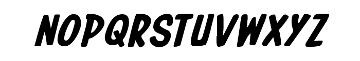 In-House Edition Expanded Italic Font LOWERCASE