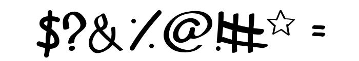 In Secret i Love You Medium Font OTHER CHARS