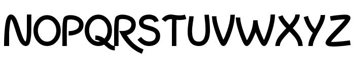 InColhua Bold Font UPPERCASE