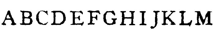 In_alphabet Font UPPERCASE