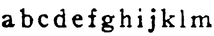 In_alphabet Font LOWERCASE