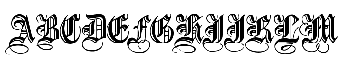IncisedBlack Normal Font UPPERCASE