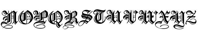 IncisedBlackWide Normal Font UPPERCASE