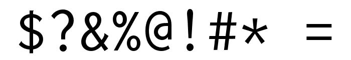 Inconsolata LGC Markup Font OTHER CHARS
